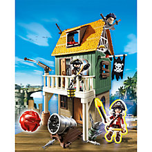 Buy Playmobil Super 4 Camouflage Pirate Fort With Ruby Set Online at johnlewis.com