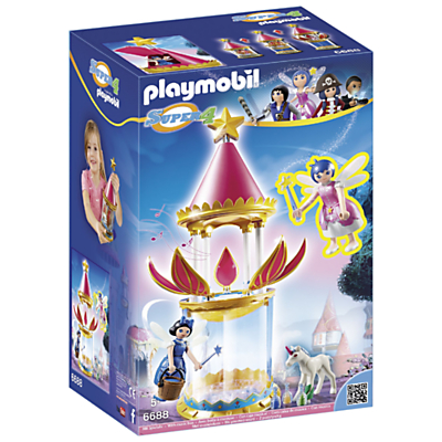 Click here for Playmobil Super 4 Musical Flower Tower Play Set