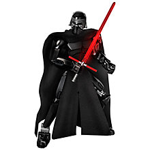Buy LEGO Star Wars Kylo Ren Buildable Action Figure Online at johnlewis.com