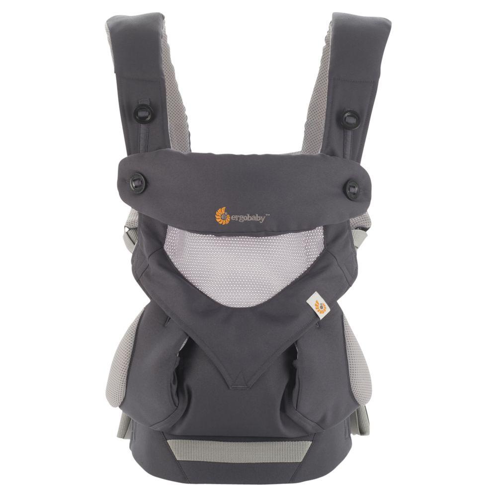 Ergobaby Ergobaby 360 Performance Baby Carrier, Carbon Grey