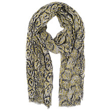Buy French Connection Soho Boa Print Scarf Online at johnlewis.com