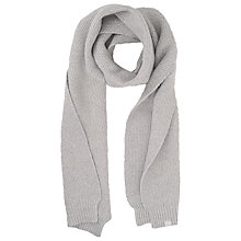 Buy French Connection Candy Scarf, Light Grey Melange Online at johnlewis.com
