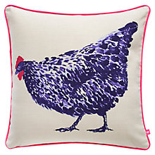 Buy Joules Shoby Cushion, Peggy Print Online at johnlewis.com