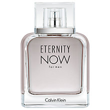 Buy Calvin Klein Eternity Now For Men Eau de Toilette Online at johnlewis.com