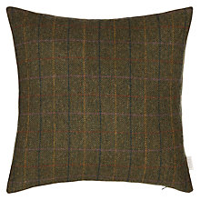 Buy Bronte by Moon Herringbone Cushion, Green Online at johnlewis.com