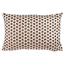 Buy Voyage Ulla Cushion, Pewter Online at johnlewis.com