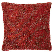 Buy west elm Heathered Boucle Cushion Online at johnlewis.com