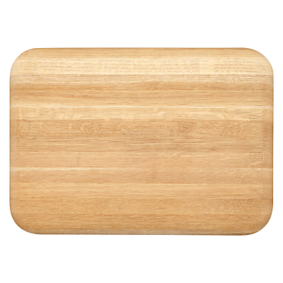 John Lewis Croft Collection Chunky Oak Chopping Board