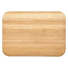 Buy John Lewis Croft Collection Chunky Oak Chopping Board Online at johnlewis.com