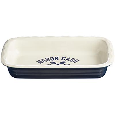 Mason Cash Varsity Rectangular Pie Dish, 31cm