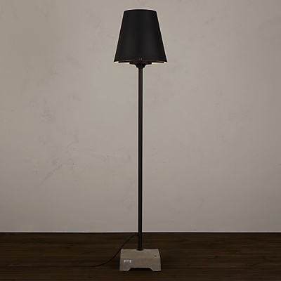 Konstsmide Lucca Outdoor Floor Lamp, Black