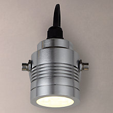 Buy Konstsmide Monza Outdoor Spotlight, Brushed Aluminium Online at johnlewis.com