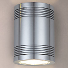 Buy Konstsmide Monza Up/Down Wall Light, Brushed Aluminium Online at johnlewis.com