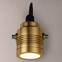 Buy Konstsmide Monza Outdoor Spotlight, Anodised Brass Online at johnlewis.com