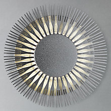 Buy Konstsmide Monza Outdoor Wall Effect Light, Brushed Aluminium Online at johnlewis.com