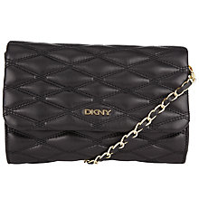 Buy DKNY Gans Quilted Nappa Leather Small Across Body Bag Online at johnlewis.com