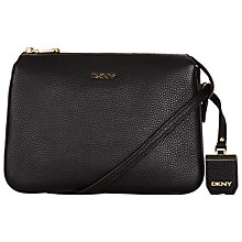 Buy DKNY Tribeca Triple Compartment Leather Across Body Bag Online at johnlewis.com
