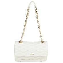 Buy DKNY Gansevort Quilted Nappa Leather Shoulder Bag Online at johnlewis.com
