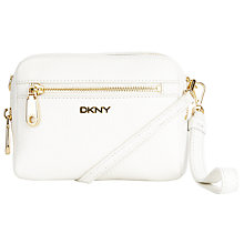 Buy DKNY Tribeca Leather Wristlet Clutch Bag Online at johnlewis.com