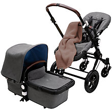 Buy Bugaboo Blend Footmuff, Bugaboo Cameleon3 Blend package. Online at johnlewis.com