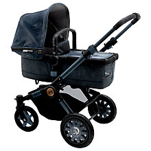 Buy Bugaboo Buffalo Diesel II Baby Pushchair, Blue Denim Online at johnlewis.com