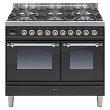 Buy ILVE Milano Dual Fuel Range Cooker Online at johnlewis.com