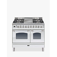Buy ILVE PDN100FMP Milano Freestanding Dual Fuel Range Cooker Online at johnlewis.com
