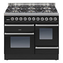 Buy ILVE Roma 100XG Dual Fuel Freestanding Range Cooker Online at johnlewis.com
