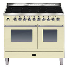 Buy ILVE Roma Freestanding Induction Range Cooker Online at johnlewis.com