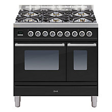 Buy ILVE PDW906 Roma Freestanding Dual Fuel Range Cooker Online at johnlewis.com