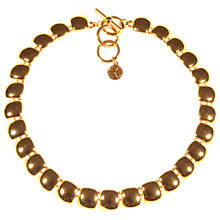 Buy Alice Joseph Vintage 1980s Anne Klien Collar Necklace, Gold Online at johnlewis.com