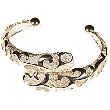 Buy Alice Joseph Vintage 1980s Yves St Laurent Silverstone Bangle, Silver Online at johnlewis.com