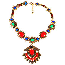Buy Alice Joseph Vintage 1980s Kenneth J Lane Statement Necklace, Multi Online at johnlewis.com