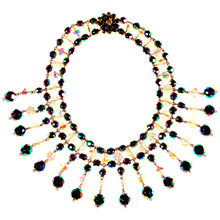 Buy Alice Joseph Vintage 1950s Vitreous and Austrian Bead Collar Necklace, Multi Online at johnlewis.com