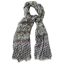 Buy White Stuff Birds And Butterflies Print Scarf, Multi Online at johnlewis.com
