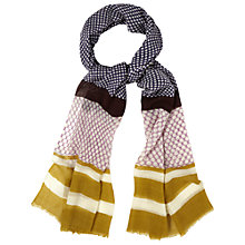 Buy White Stuff Patchwork Wool Scarf, Multi Online at johnlewis.com