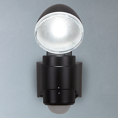 Saxby Laryn LED Battery Operated Outdoor Spotlight With PIR, Black