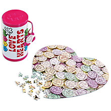 Buy Love Hearts Jigsaw Puzzle Tin Online at johnlewis.com