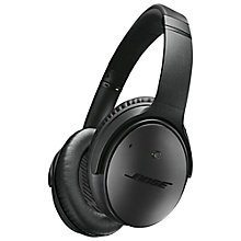Buy Bose® QuietComfort® Noise Cancelling® QC25 Over-Ear Headphones For iOS/ Apple iPhone or iPod, Special Edition Online at johnlewis.com