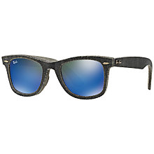 Buy Ray-Ban RB2140 Original Wayfarer Denim Sunglasses Online at johnlewis.com
