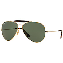 Buy Ray-Ban RB3029 Outdoorsman II Aviator Sunglasses Online at johnlewis.com
