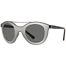 Buy Giorgio Armani AR6033 Round Sunglasses Online at johnlewis.com
