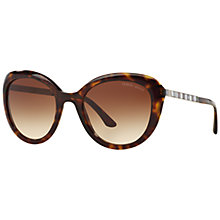 Buy Giorgio Armani AR8065H Cat's Eye Sunglasses, Tortoise Online at johnlewis.com