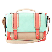 Buy Oasis Suzy Colourblock Satchel, Multi Online at johnlewis.com