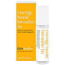 Buy This Works Energy Bank Breathe In, 10ml Online at johnlewis.com