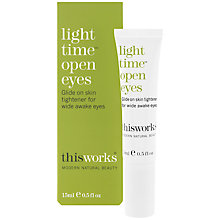 Buy This Works Light Time Open Eyes, 15ml Online at johnlewis.com