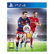 Buy FIFA 16, PS4 Online at johnlewis.com