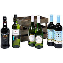 Buy John Lewis 6 Bottle Crate Online at johnlewis.com