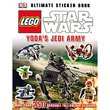 Buy LEGO Star Wars Yoda's Jedi Army Sticker Book Online at johnlewis.com