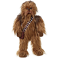 Buy Star Wars Episode VII: The Force Awakens Premium Talking Chewbacca Soft Toy Online at johnlewis.com